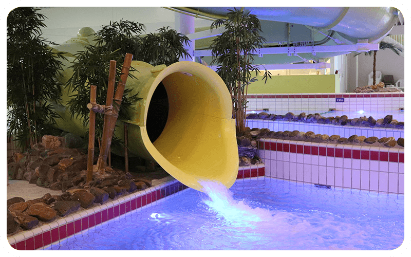 Tunnelrutsche Swimfun Joure